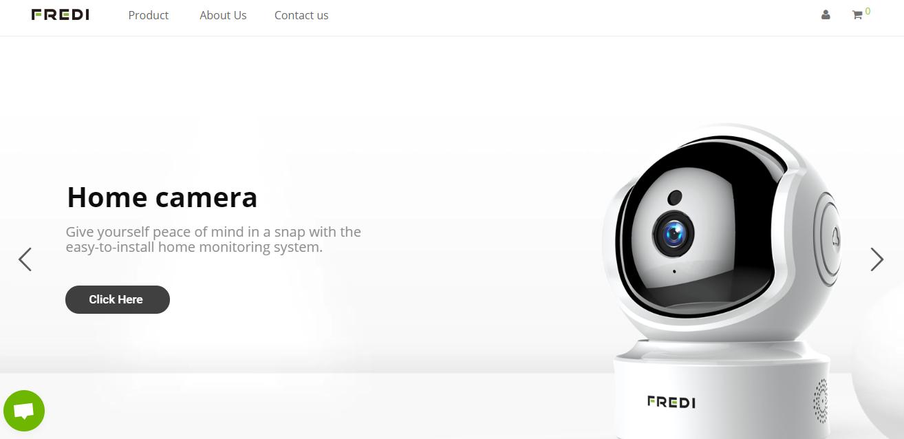 FREDIのブランドホームページ