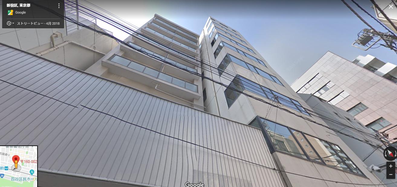 東京支社のオフィス所在地