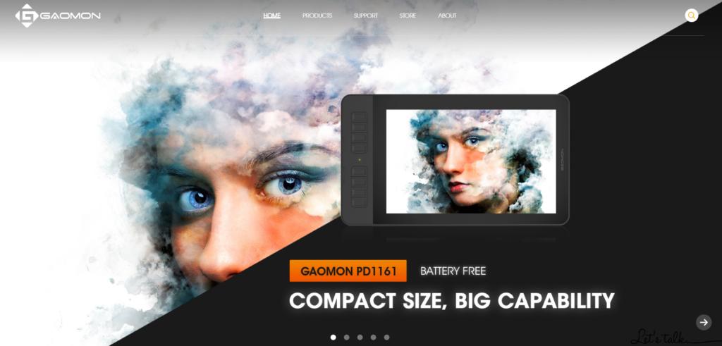 GAOMONの会社ホームページ