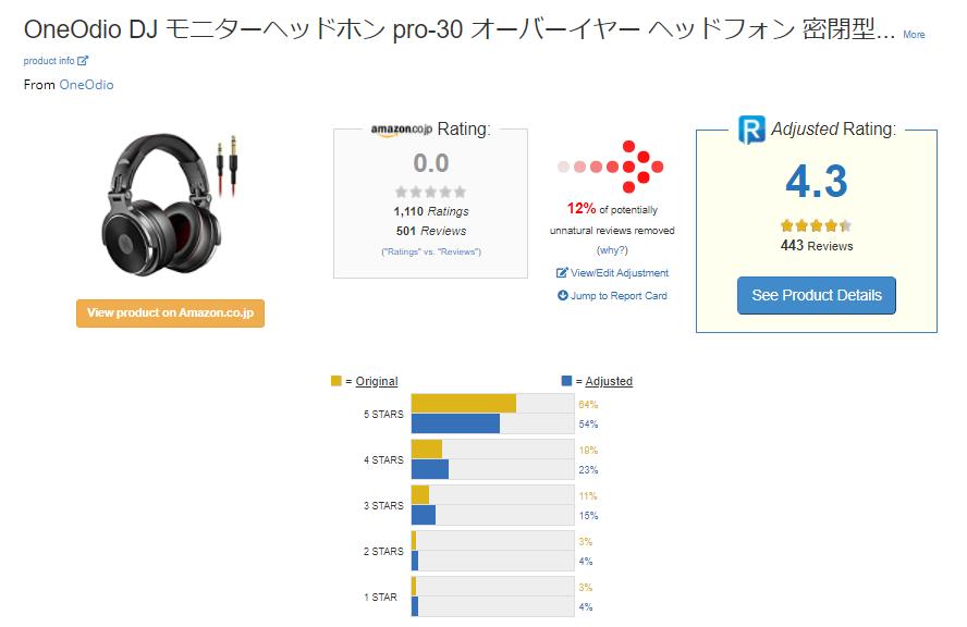 OneOdioの評判・レビュー2