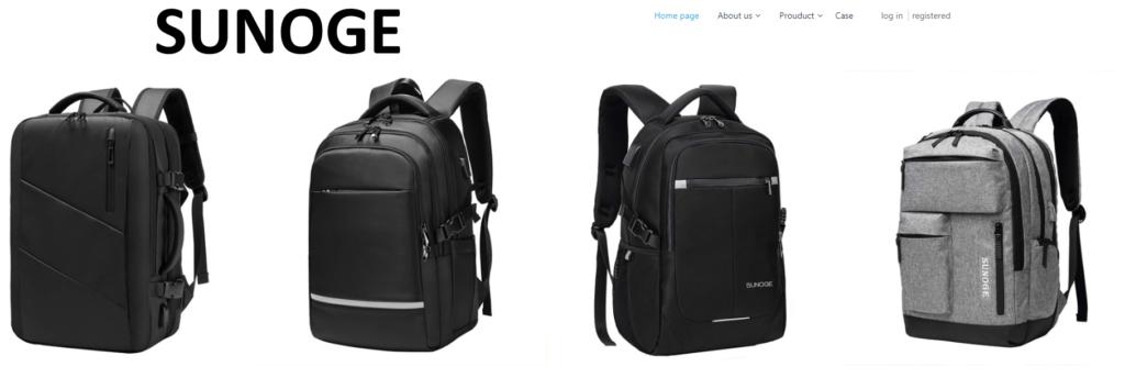 SUNOGE の会社ホームページ