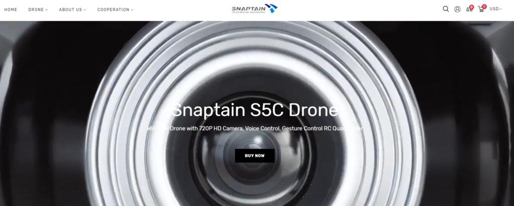 SNAPTAINの会社ホームページ