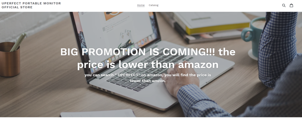 UPERFECTの会社ホームページ