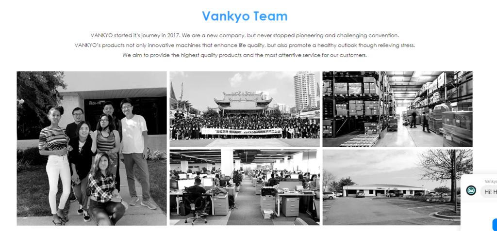 Vankyoの会社概要