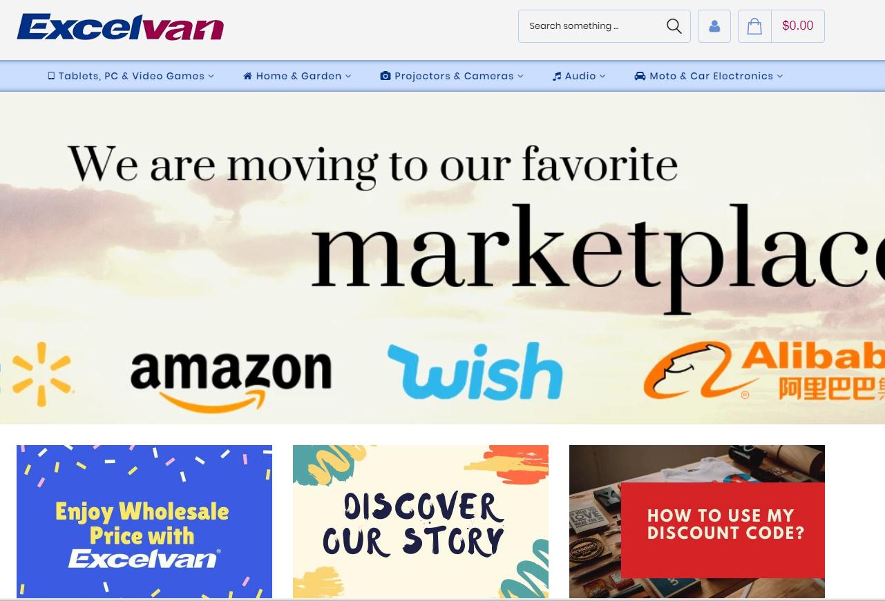 Excelvanの会社ホームページ