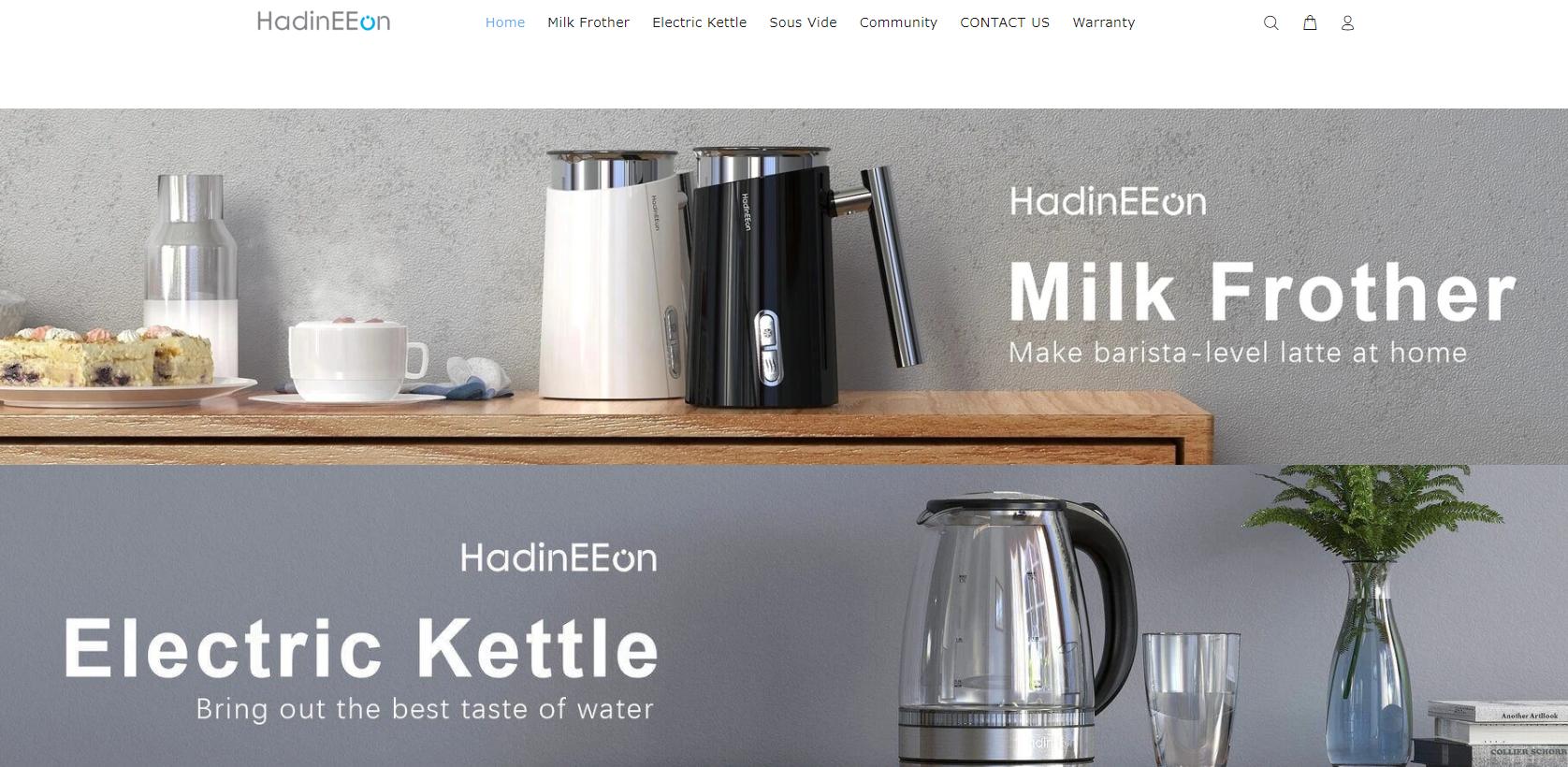 HadinEEonの会社ホームページ