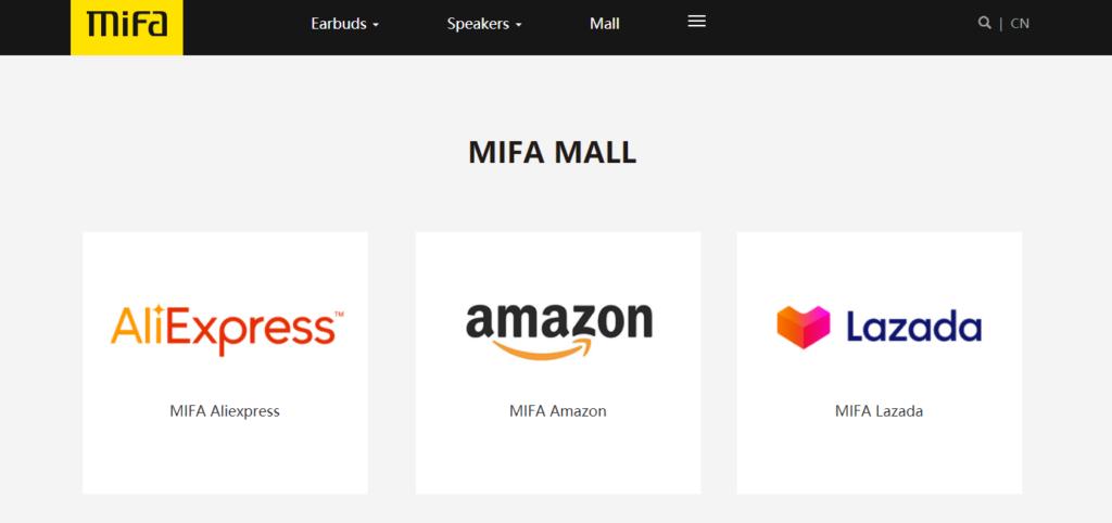 2MIFAのブランドページ